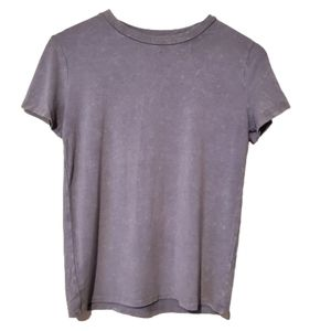 Forever 21 T-shirt in Distressed Grey